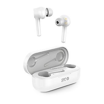 Wireless Headphones with Microphone SPC ZION PRO TRUE 4613B White