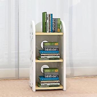 Minimalist Modern 4 Layered Toy/books Wooden Rack