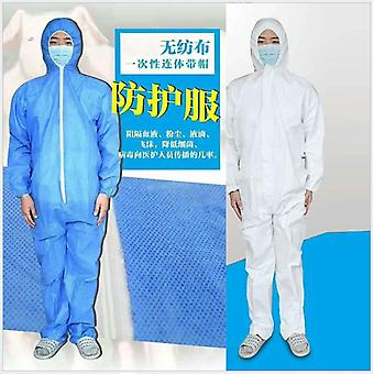 Protection Suit Coverall Hazmat Suit Protective Disposable Anti-virus Clothing