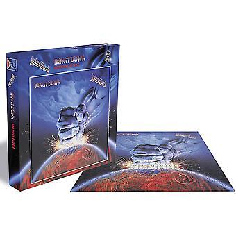 Judas Priest Ram It Down Jigsaw Puzzle (500 Pieces)