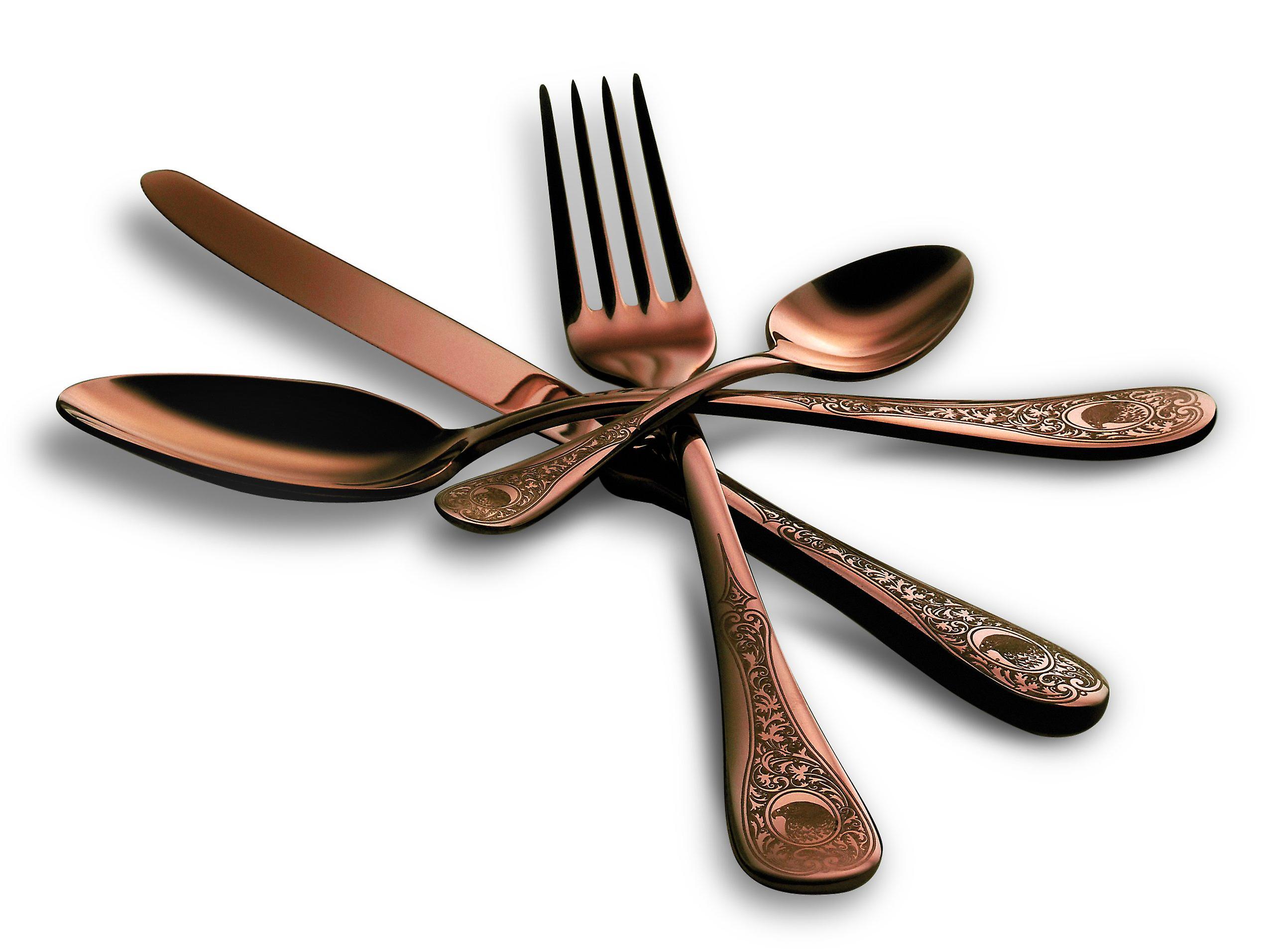 Mepra Diana Bronzo 4 pcs flatware set