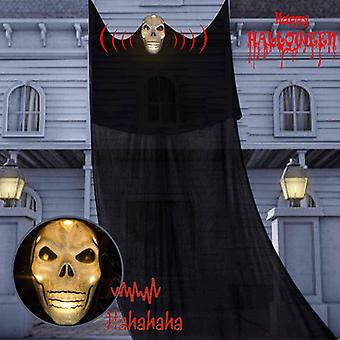 Halloween Hanging Luminous Ghost con Scary Voice Pendant Specter Terror Adornments Pendants Party Layout Horror Props