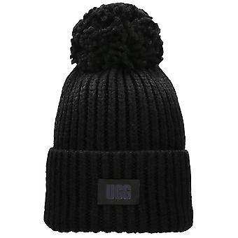 UGG Chunky Rib NeulePipo Unisex Hattu musta