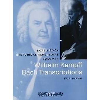 Bach Transskriptioner JS Bach klaver
