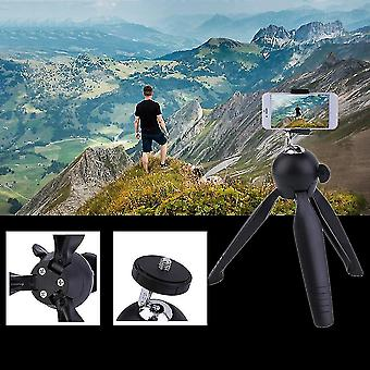 Compact Flexible Mobile Phone Stand Mount Holder Outdoor Travel Mini Tripod