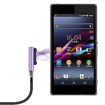Magnetic Charging Cable W/led For Sony Xperia Z3 L55t Z2 Z1 Compact Xl39h