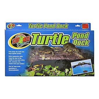 "Zoo Med Floating Turtle Dock - X-Large - 60 gallon tankar - (24"" Lång x 12"" Bred)"