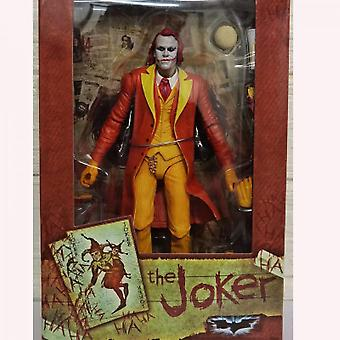 Hywell Joker Joker Orange Clown With Super Movable Joints, Brand New Boxed Hand Office Boy Anime Peripherals