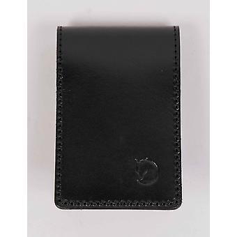 Fjallraven Ovik porte-carte de Large - cuir noir