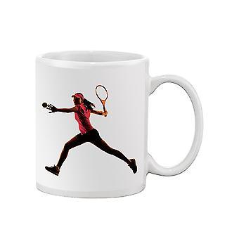 Tennis Woman Mug -SPIdeals Designs