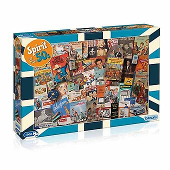 Spirit of the 50s 1000pc Jigsaw by Gibsons