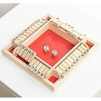 Tile games wooden digital dice game intellectual leisure games multifunctional table board|strategy games
