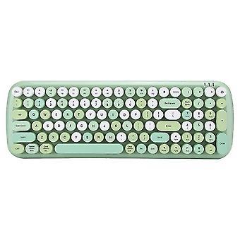 Keyboards qwert ergonomic wireless computer keyboard multi‑device keyboard for bluetooth 5.1 Wireless keyboard