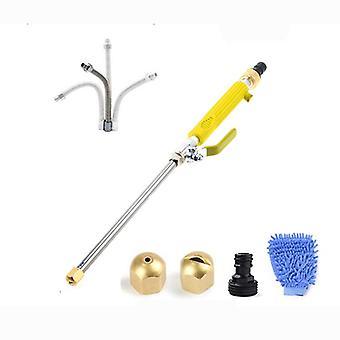 High Pressure Water Gun Garden Water Gun Car Wash Water Gun,blue