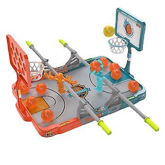 Kids Desktop Basketball Toys Parent Child Interactive Double Fingertip Shooting Game Machine