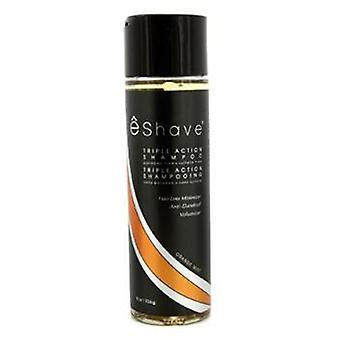 Eshave Triple Action Shampoo - Orange Mint - 226g/8oz