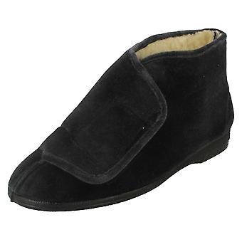 Mens Spot On Bootee Slipper Albert