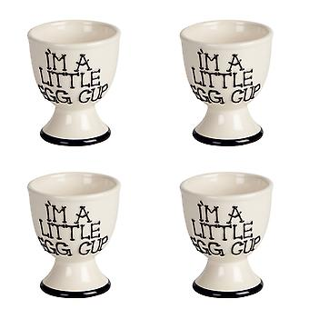 Fairmont & Main I'm A Little Egg Cup, Set of 4