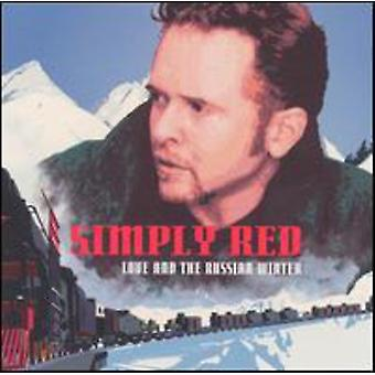 Simply Red - Love & the Russian Winter [CD] USA import