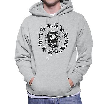 Monkey Fever 12 Monkeys Men's Hooded Sweatshirt