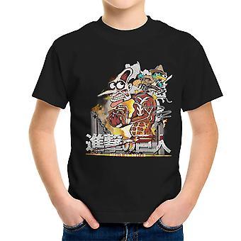 Támadás doofen Phineas és Ferb Titan Kid ' s póló