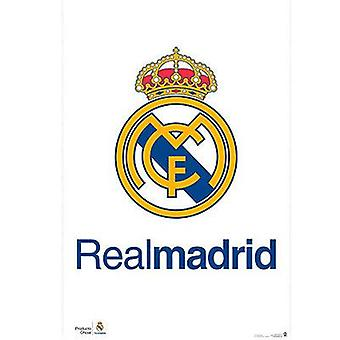 Real Madrid Poster Crest 2