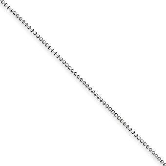 925 Sterling Silver Hollow Beaded Polished Chain Bracelet 1.5mm Lobster Claw Jewelry Gifts for Women - Length: 9 to 10