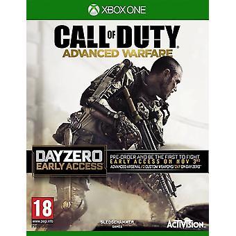 Call of Duty Advanced Warfare - päivä nolla Edition Xbox yksi peli