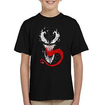 Gift Splatter Symbiote Kids t-skjorte