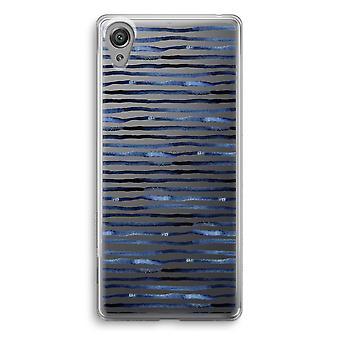 Sony Xperia XA1 przezroczyste etui (Soft) - zaskakujące linie