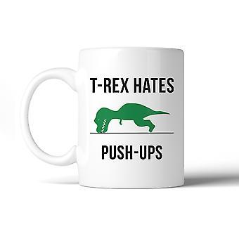 T-Rex Push Ups lustige Geschenk für Workout Mütter Keramik Kaffeebecher Geschenk