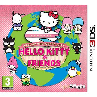Around the World with Hello Kitty and Friends (Nintendo 3DS) - New