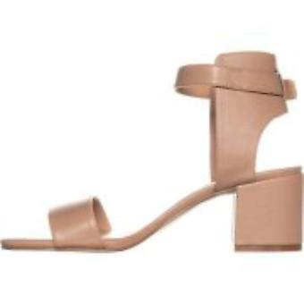 INC International Concepts Womens Hallena Leather Open Toe Casual Ankle Strap Sandals