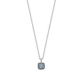 Joop women's chain necklace silver M PAVE JPNL90769D420