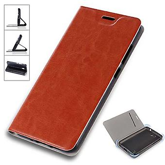 Flip / smart cover Brown for Sony Xperia XZ2 protective case cover pouch bag case new case
