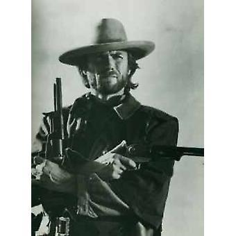 Clint Eastwood kanoner plakat plakat Print