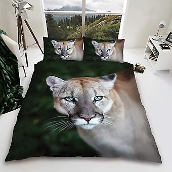 Puma Wild Cat Duvet Cover Bedding Set