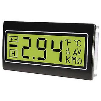 TDE Instruments DPM961-TG Digital rack-mount meter Digital multimeter for installation in a control panel ± 200 mV