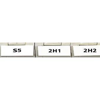 HellermannTyton 594-01101 TAG11LA4-1101-WH Cable identifier Helatag 5.1 x 16.5 mm Label colour: White No. of labels: 10000