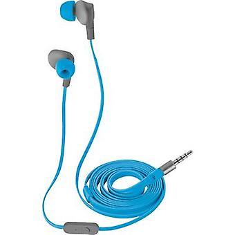 Trust Aurus Sports In-ear headphones In-ear Headset, Sweat-resistant, Water-resistant Blue