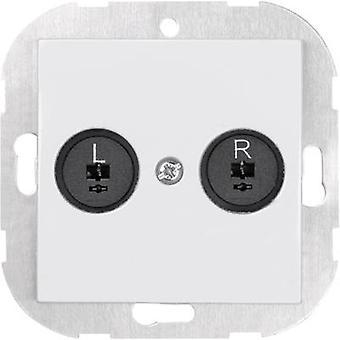 Sygonix Insert Speaker SX.11 Sygonix white, (glossy) 33599W