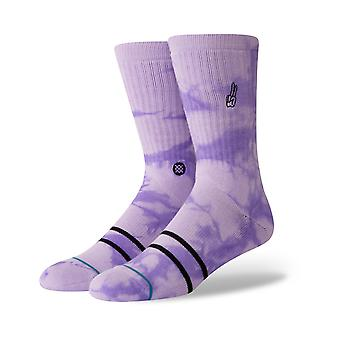 Stance beloften crew sokken in Violet