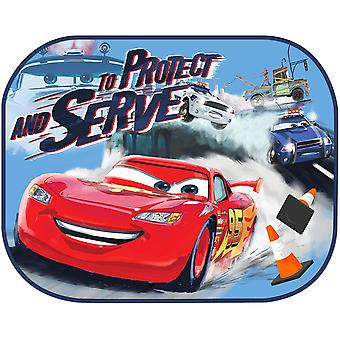 Twin Pack Disney Cars Window Sun Shade Lightning Mcqueen Baby Window Visor Sunshade