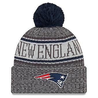 New era NFL sideline graphite hats - New England Patriots