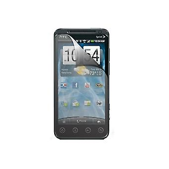 Wrapsol Clean Screen Protector Film for HTC Evo 3D (Clear / Screen-Only)