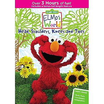 Elmo's World: Head Shoulders Knees & Toes [DVD] USA import