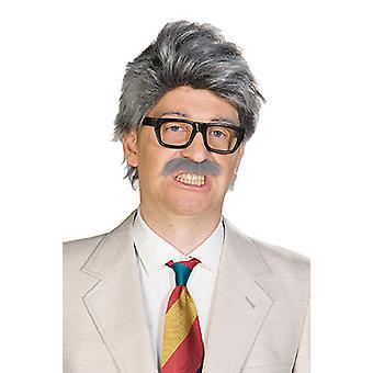 Horst peruukki viiksekästä ilman laseja