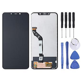 Dla Xiaomi Pocophone poco kompletny F1 Naprawa wyświetlacza LCD touch czarny zamiennik