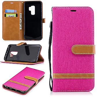 Samsung Galaxy S9 + plus cell phone case protective bag case cover pink slot