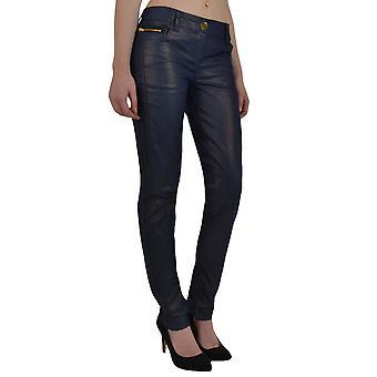 Adidas Originals Womens Missy Elliott Skinny gecoat Denim broek bodems W34